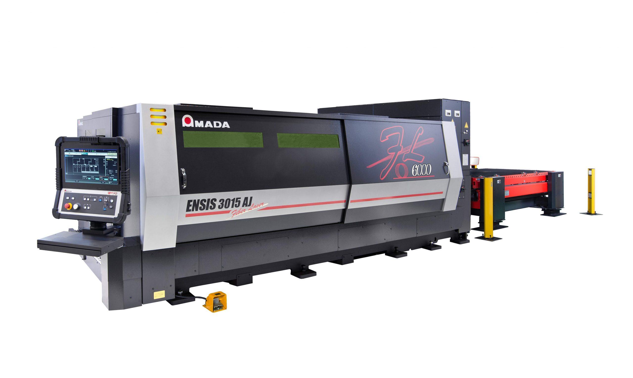 New laser cutting machine